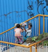 Dans les rues de Yangoon