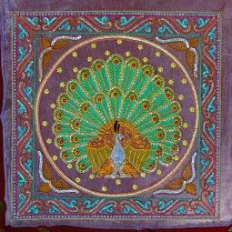 MANDALAY , site des artisans , Tissage fait à la main