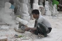 Sculpteur sur marbre