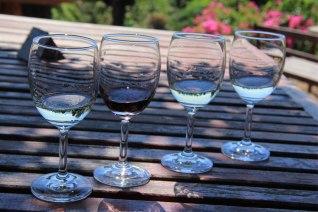 Red mountain Sauvignon, muscat et vendanges tardives