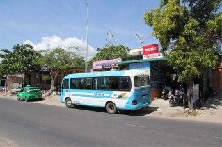 1 er bus de la journée, pour aller de DALAT à Muiné 7 h de bus ...