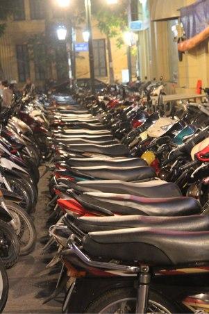 Parking pour les scooters