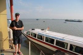Frontière côté Vietnam par le mekong