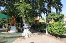 Frontière côté Cambodge
